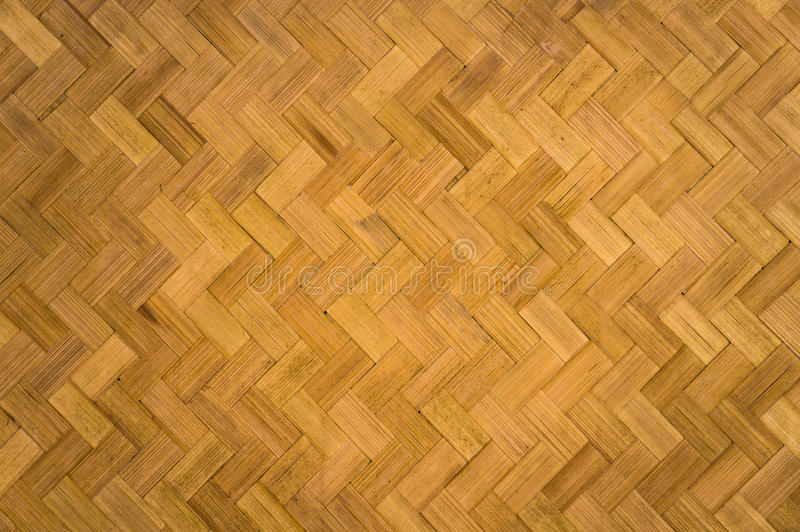 Modelo de zigzag de bambú imagen de archivo