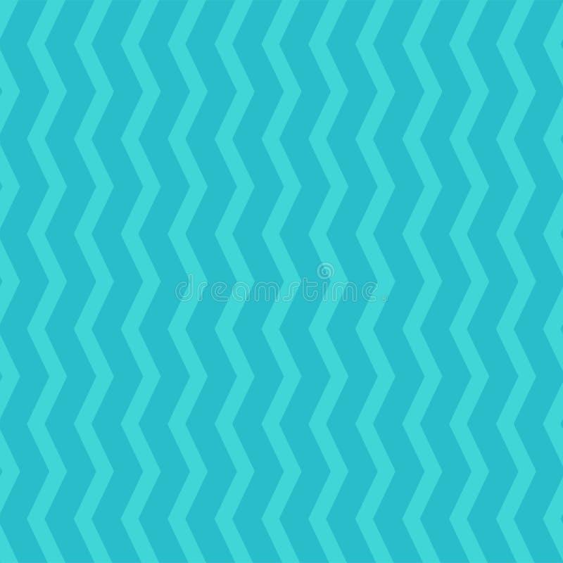 Modelo de zigzag inconsútil brillante - vector la textura rayada Fondo elegante coloreado libre illustration