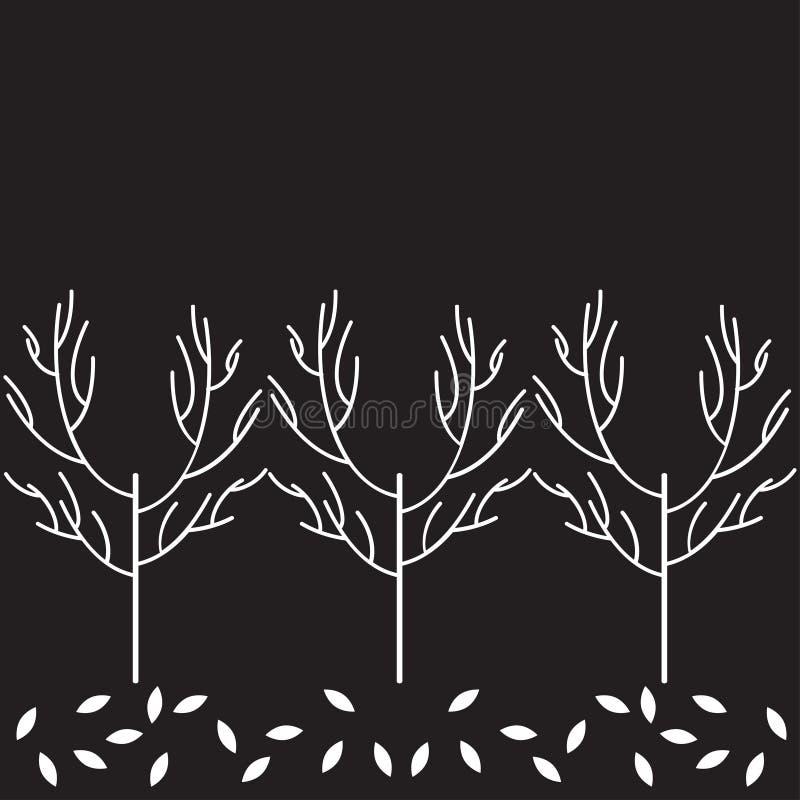 Modelo del árbol del vector imagenes de archivo
