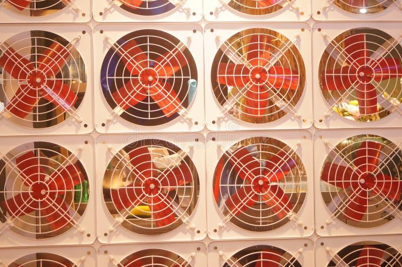 Modelo del arreglo de la fan, muy interesante imagen de archivo
