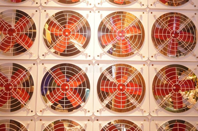 Modelo del arreglo de la fan, muy interesante fotos de archivo