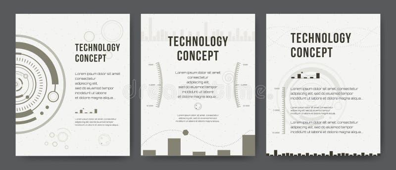 Modelo del asunto El diseño del folleto, cubre la disposición moderna, informe anual, cartel, aviador Fondos modernos abstractos libre illustration