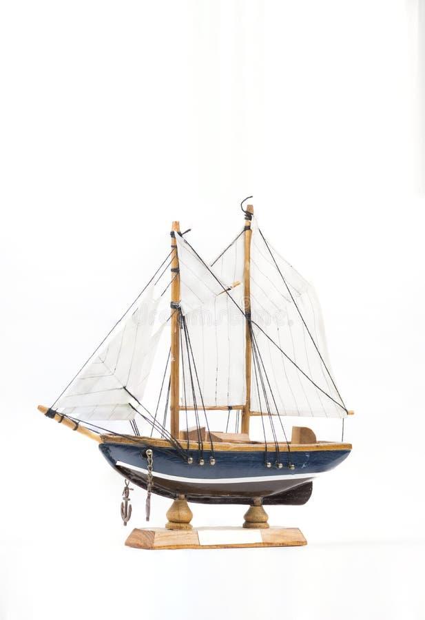 Modelo del barco de vela fotografía de archivo libre de regalías