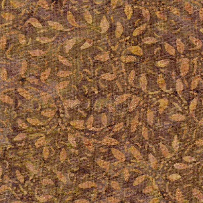 Modelo del batik de Brown imagen de archivo