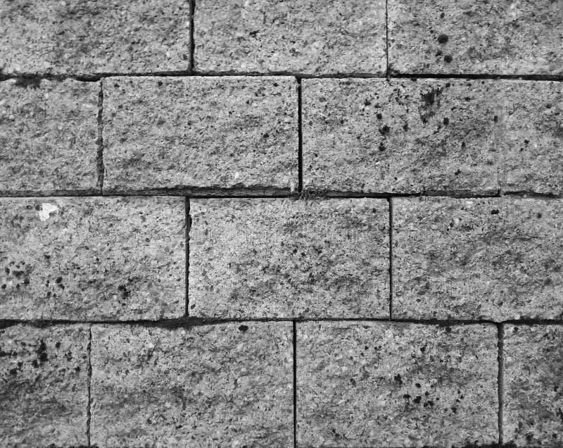 Modelo del bloque de cemento foto de archivo