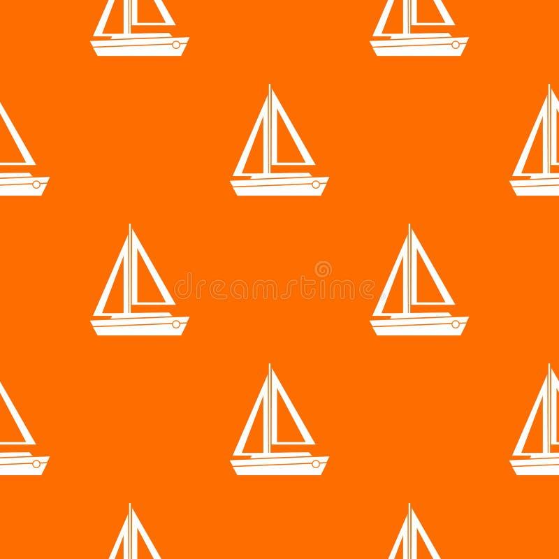 Modelo del bote pequeño inconsútil libre illustration