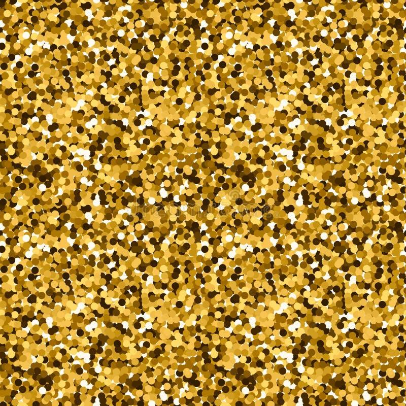 Modelo del brillo del oro foto de archivo