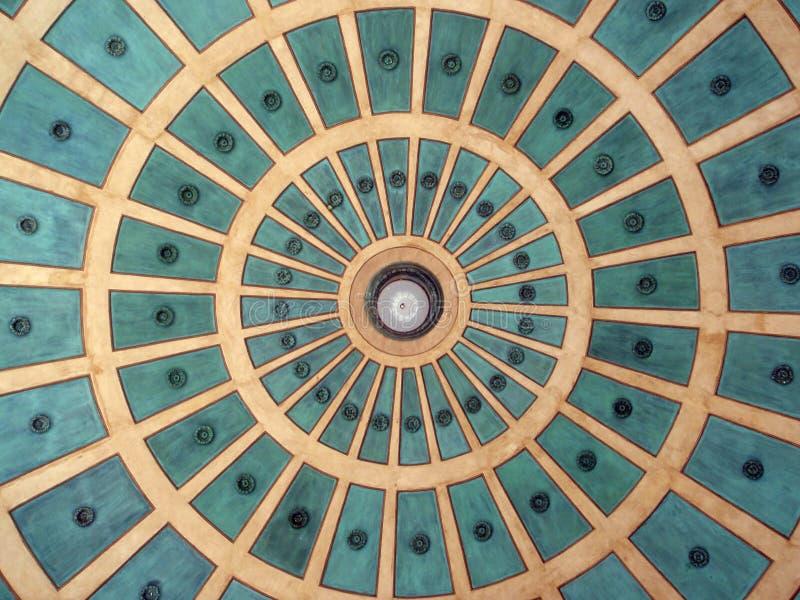 Modelo del círculo de la bóveda en plaza en Costa Rica foto de archivo libre de regalías