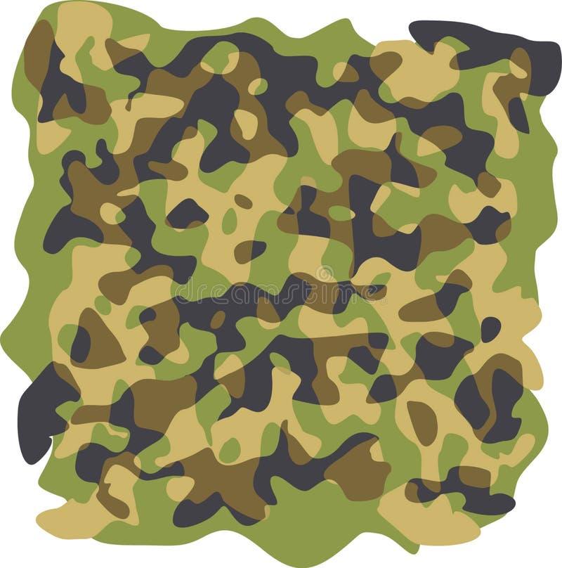 Modelo del camuflaje imagen de archivo libre de regalías