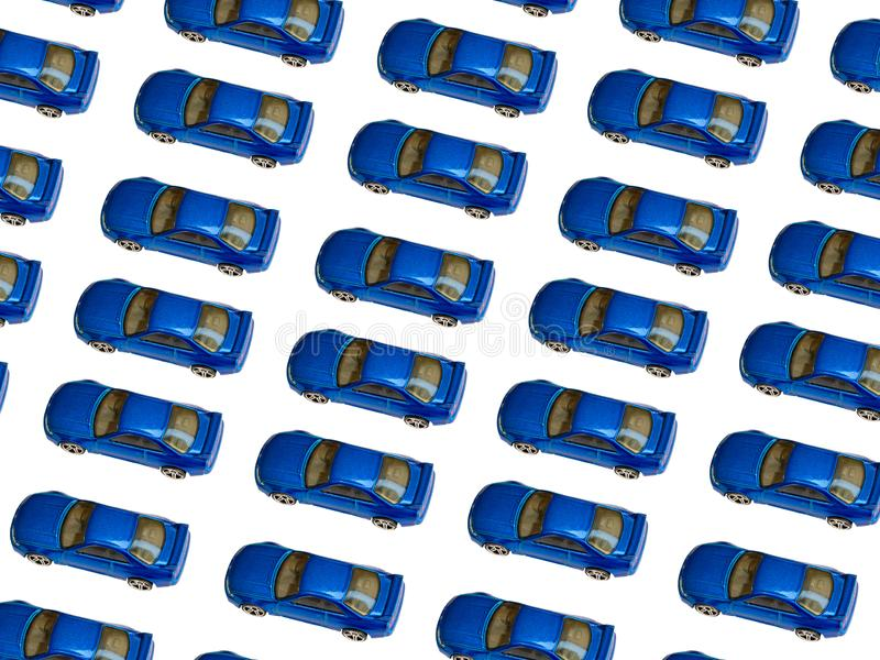 Modelo del coche del juguete foto de archivo libre de regalías