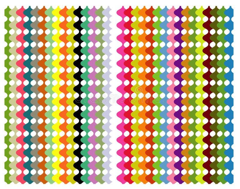 Modelo del color ilustración del vector