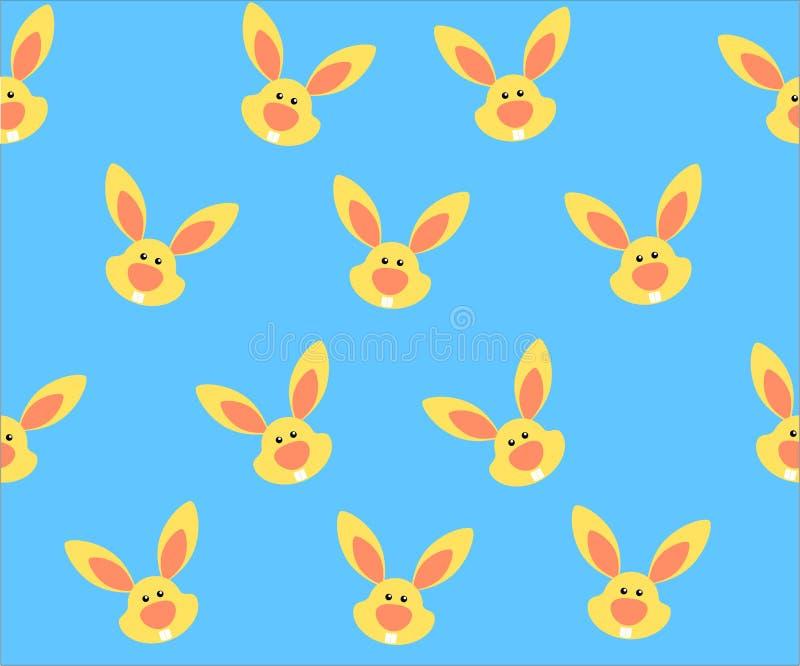 Modelo del conejo de la historieta ilustración del vector