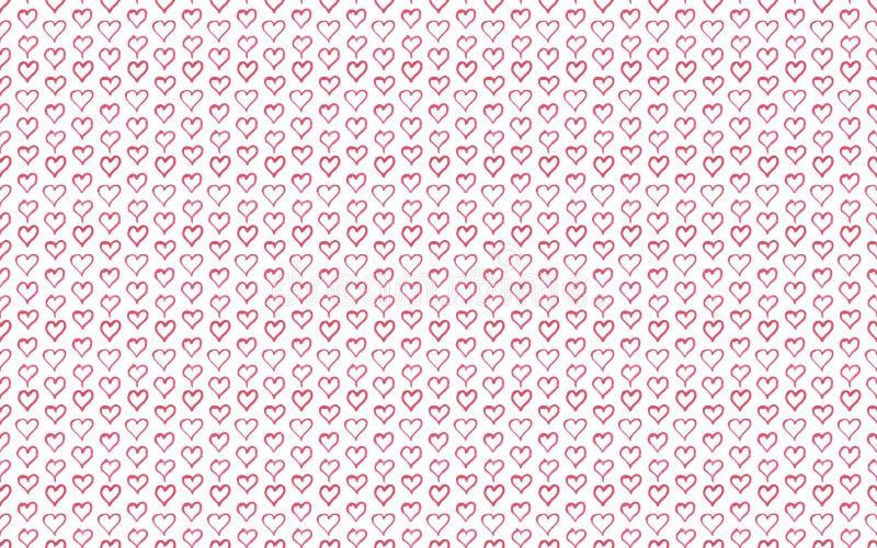 Modelo del corazón de la acuarela del vector libre illustration