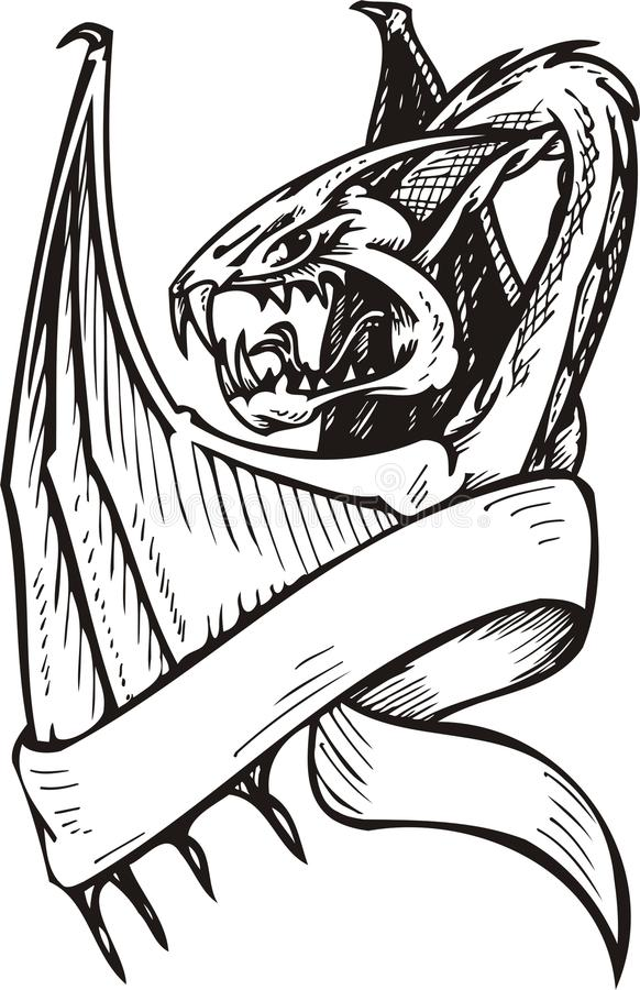 Modelo del dragón. libre illustration