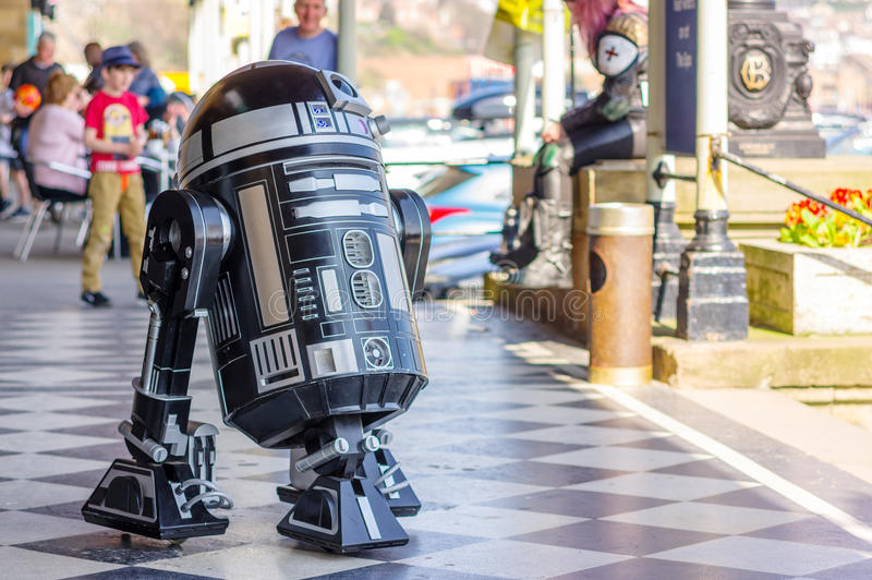 Modelo del droid de Star Wars foto de archivo