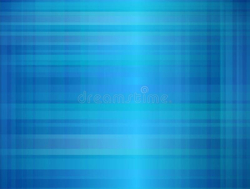 Modelo del ejemplo de la tela escocesa para el diseño y decorativo azules, modelo a cuadros clásico inconsútil del papel pintado stock de ilustración