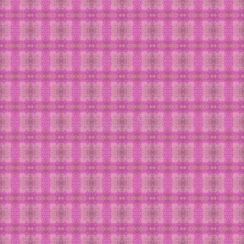Modelo del este inconsútil hermoso de la decoración de la alfombra, ornamento abstracto de alrededor y cuadrado o elementos del R ilustración del vector