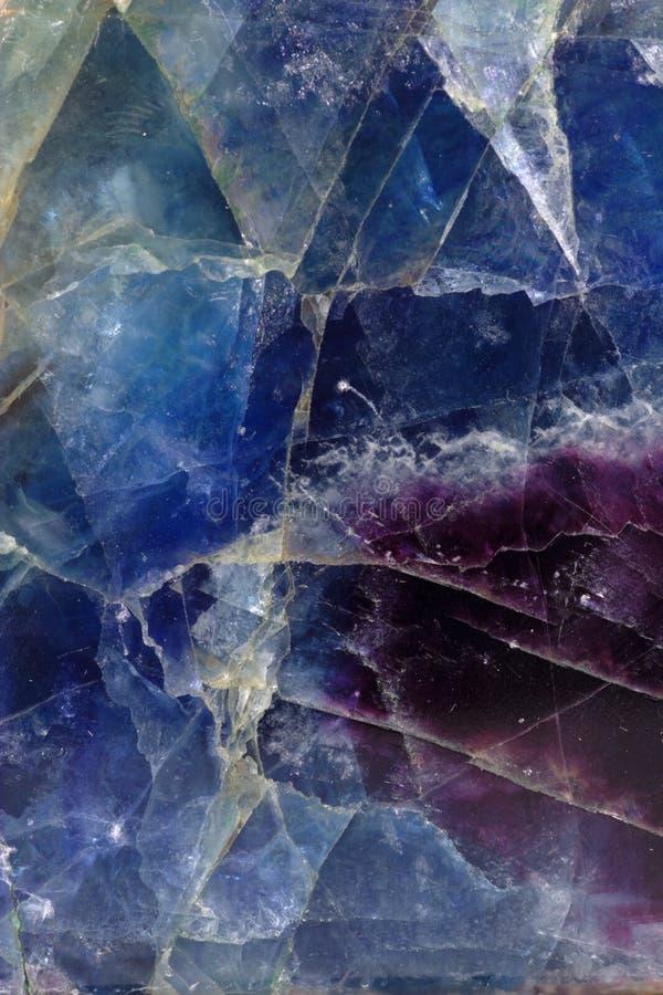 Modelo del fluorito foto de archivo libre de regalías