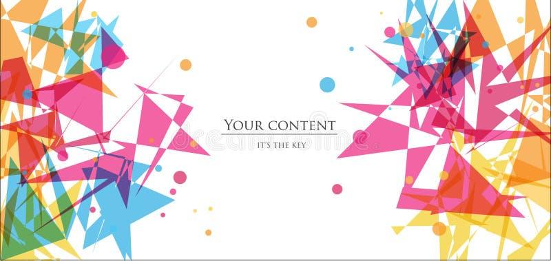 Modelo del folleto libre illustration