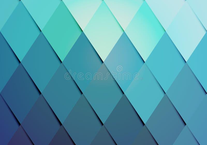 Modelo del fondo del color del inconformista del negocio stock de ilustración