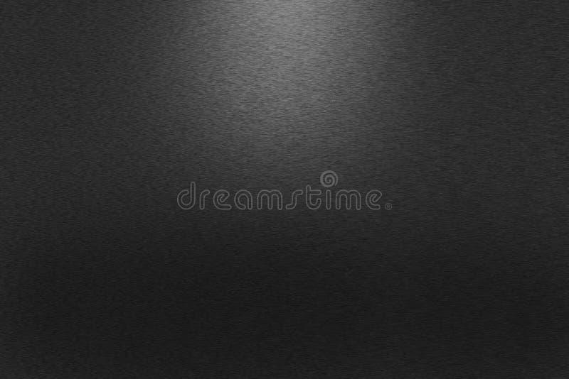 Modelo del fondo negro del metal fotos de archivo