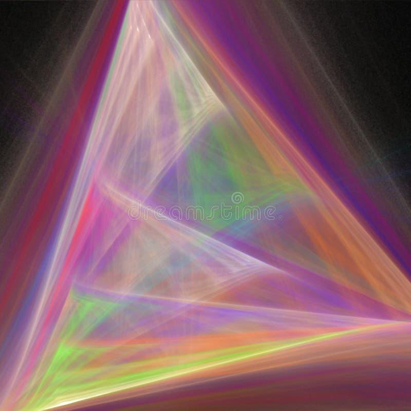 Modelo del fractal stock de ilustración