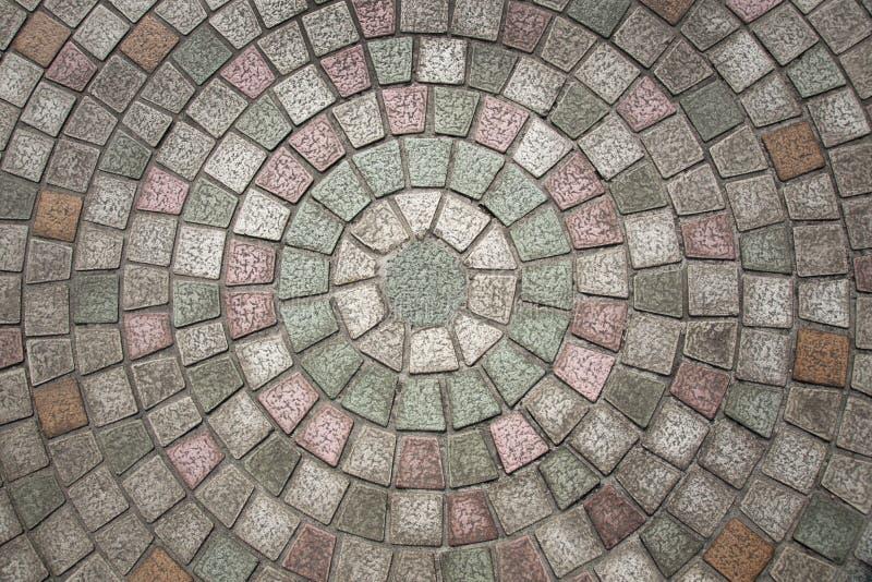 Modelo del guijarro de Circuilar imagen de archivo