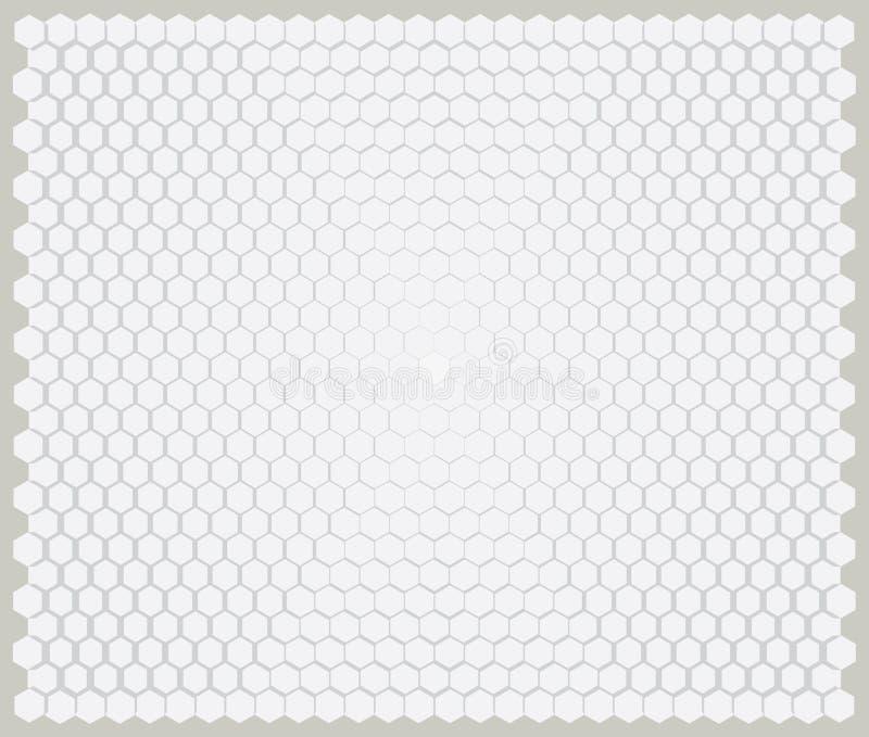 Modelo del hexágono, ilustraciones del fondo fotos de archivo