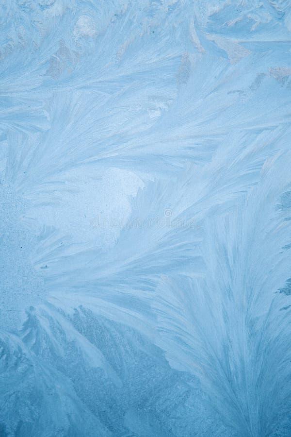 Modelo del hielo sobre el vidrio imágenes de archivo libres de regalías