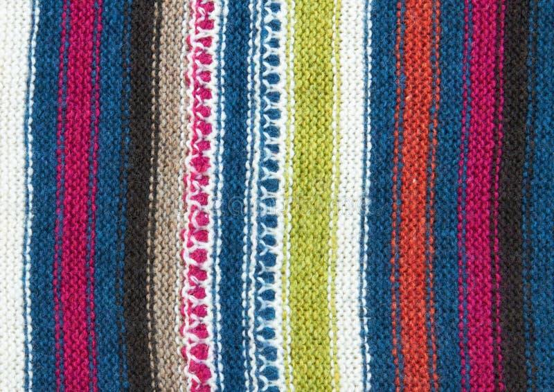 Modelo del knit de las lanas imágenes de archivo libres de regalías