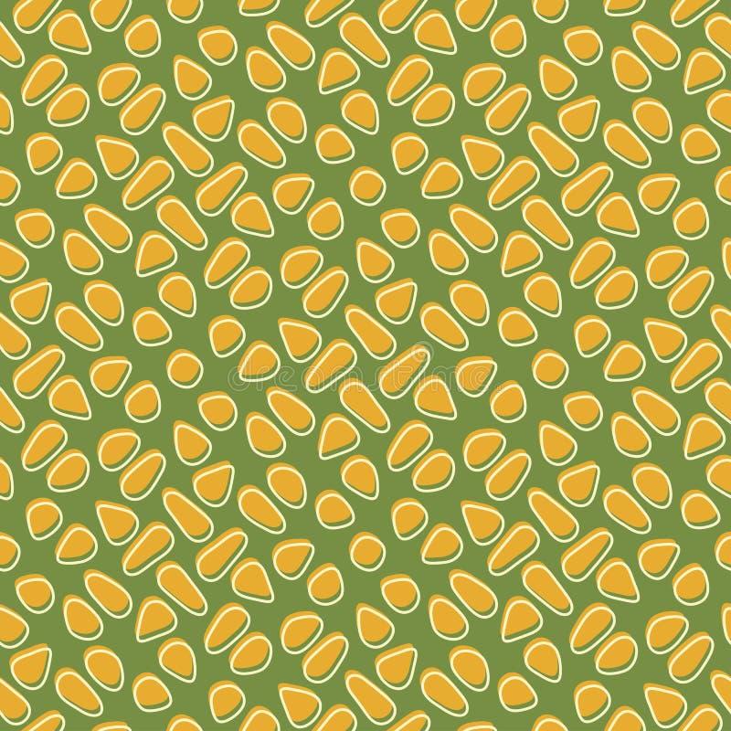 Modelo del maíz ilustración del vector