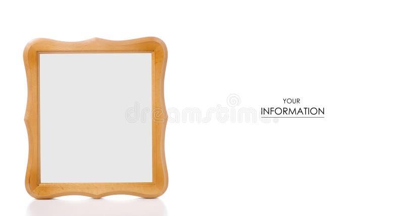 modelo del marco de la foto imagenes de archivo