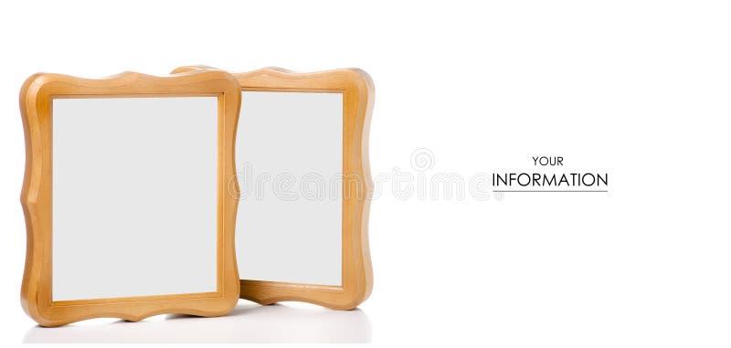 modelo del marco de la foto fotografía de archivo