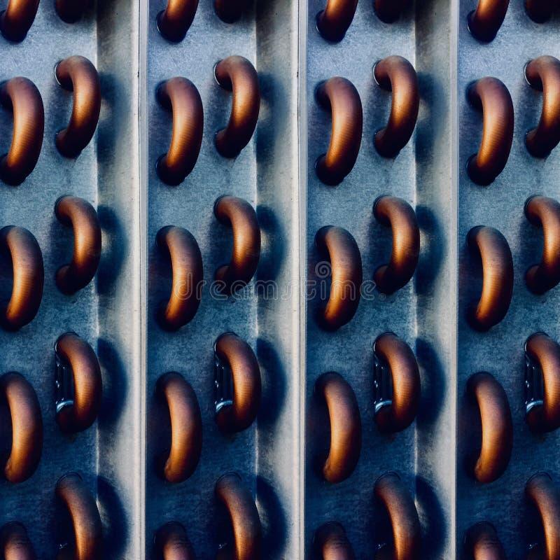 Modelo del metal del fondo imagenes de archivo