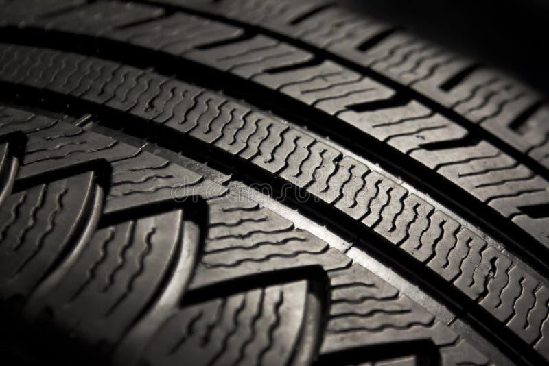 Modelo del neumático de coche fotos de archivo