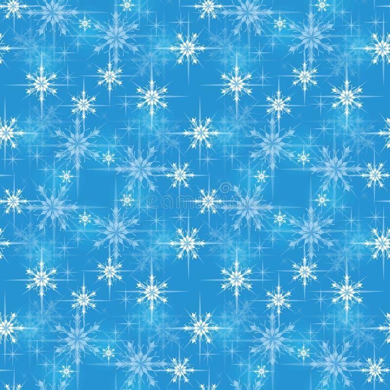 Modelo del papel de embalaje de la Navidad stock de ilustración