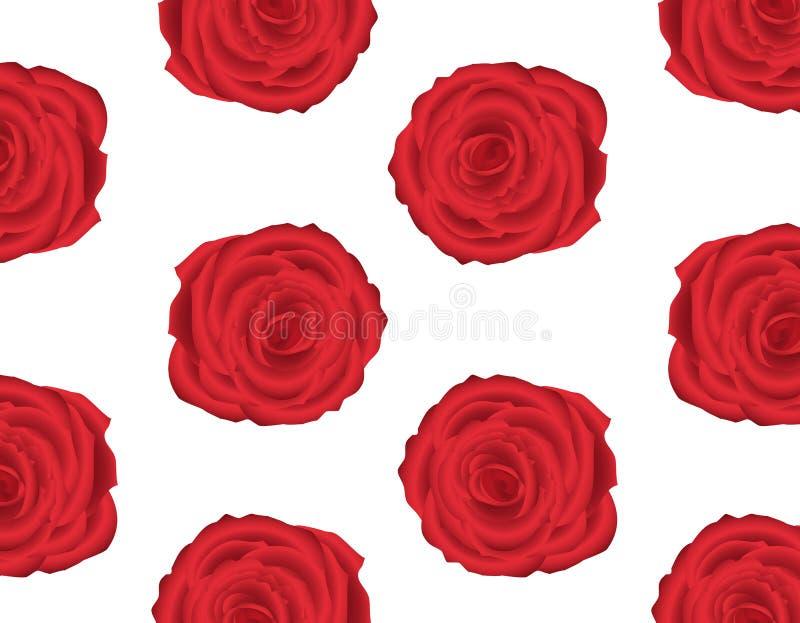 Modelo del papel pintado con de las rosas rojas - Modelos de papel pintado ...