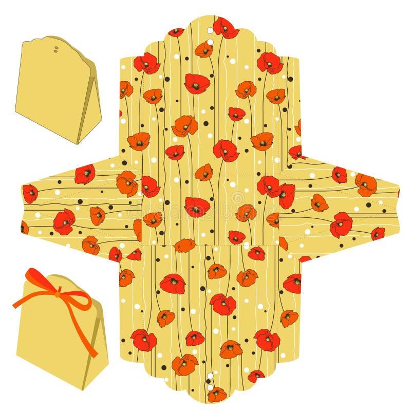 Modelo del rectángulo stock de ilustración