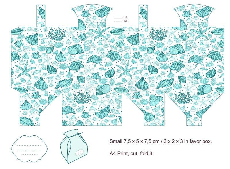 Modelo del rectángulo de regalo libre illustration