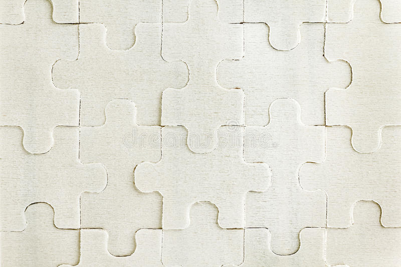Modelo del rompecabezas fotografía de archivo libre de regalías