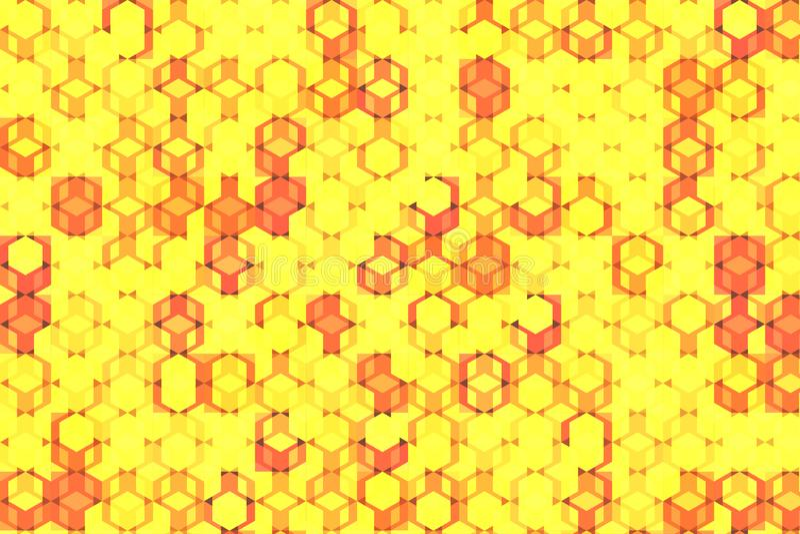 Modelo del rompecabezas del cubo libre illustration