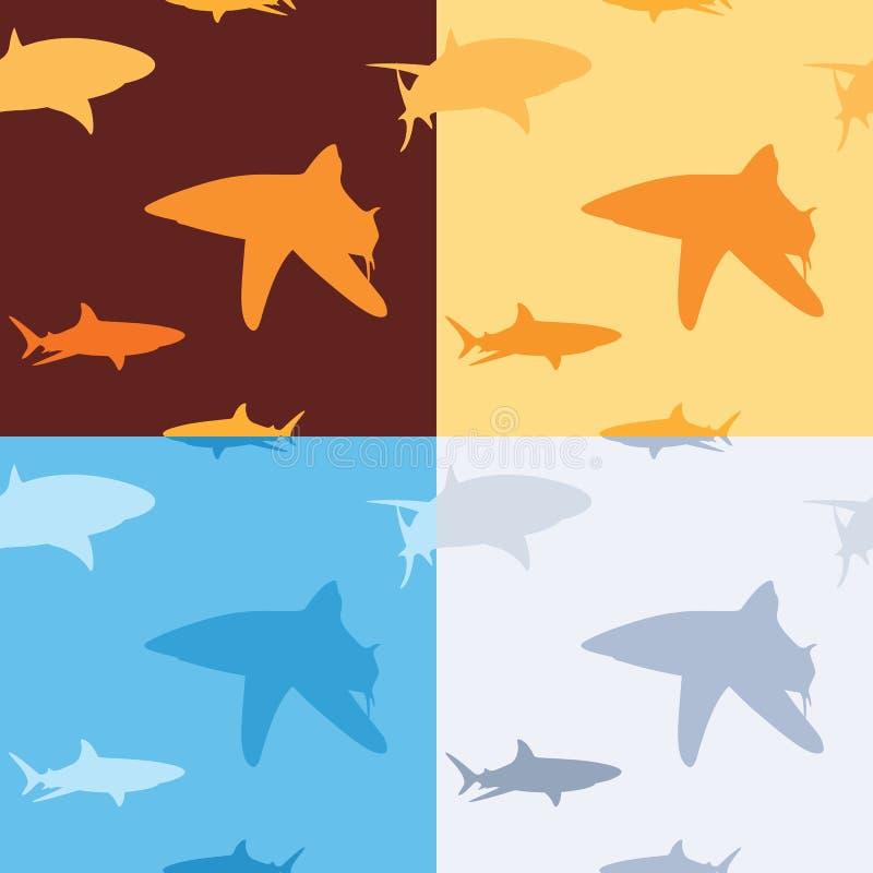 Modelo del tiburón stock de ilustración