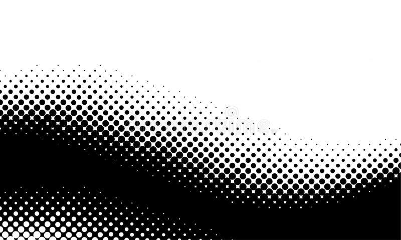 Modelo del tono medio del vector foto de archivo