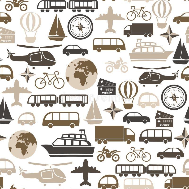 Modelo del transporte stock de ilustración