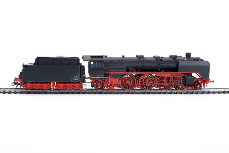 Modelo del tren del vapor fotografía de archivo libre de regalías