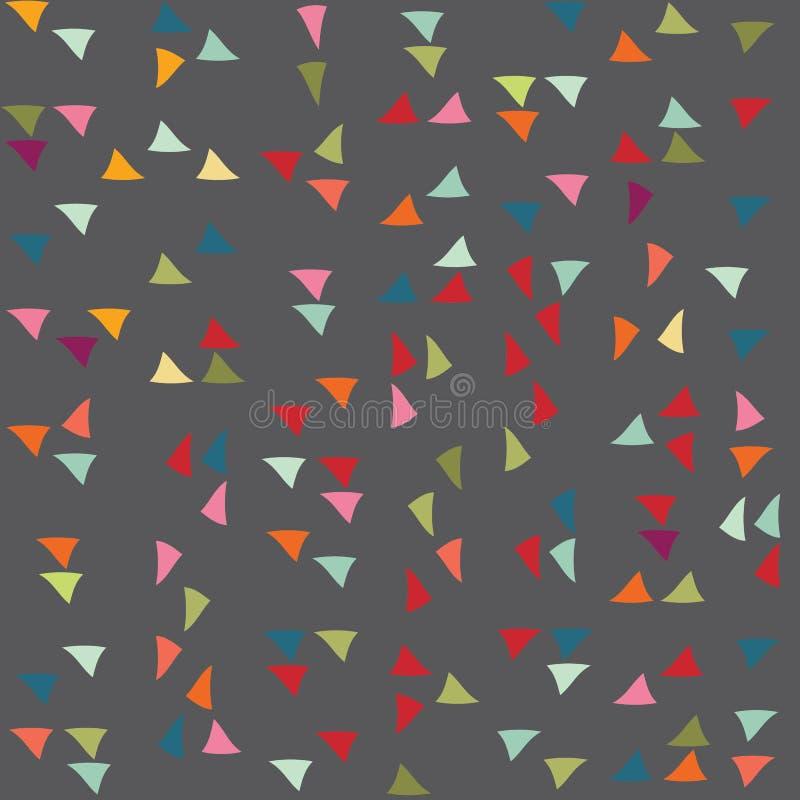 Modelo del triángulo Fondo del vector imagenes de archivo