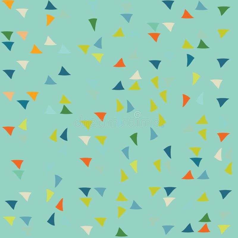 Modelo del triángulo Fondo del vector foto de archivo libre de regalías