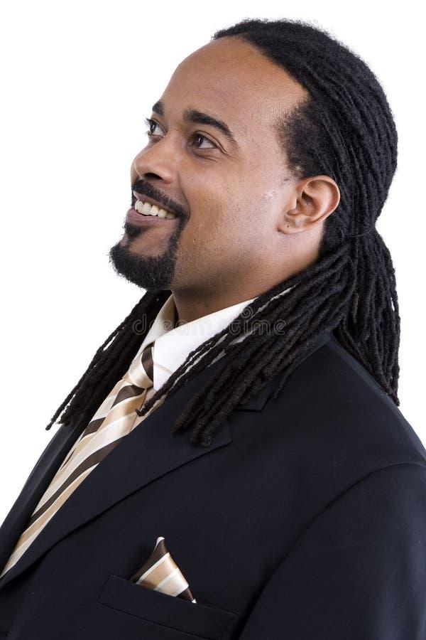 Modelo del varón del afroamericano fotos de archivo