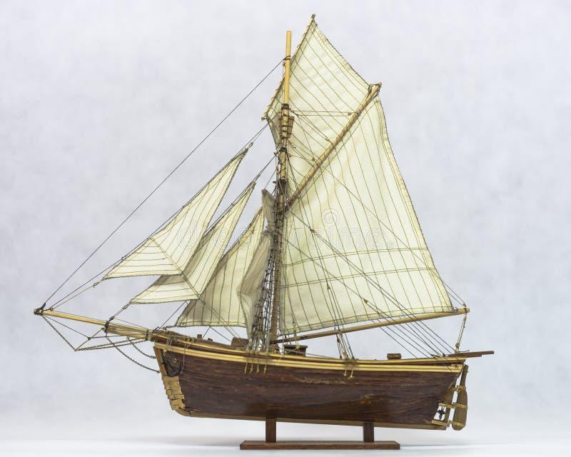 Modelo del velero imágenes de archivo libres de regalías