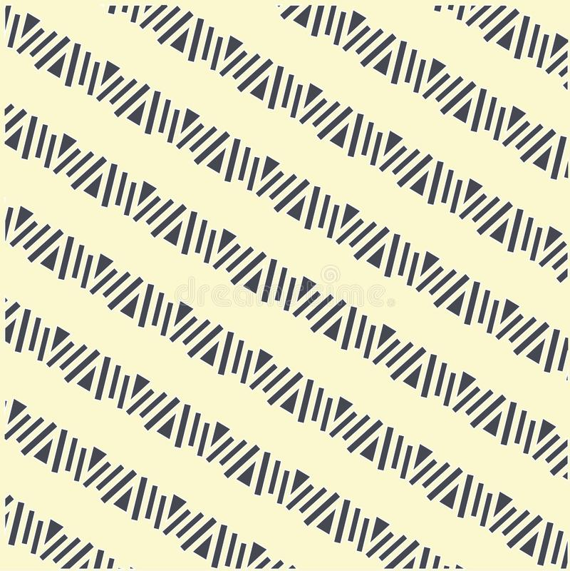 Modelo diagonal de las formas geométricas inconsútiles, oscuro en la luz, vector ilustración del vector